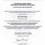 AFISP certifikát poistenie