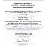 AFISP certifikát úvery